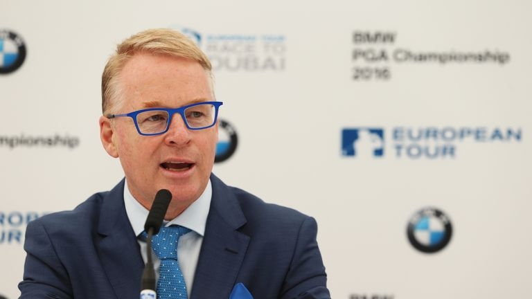 European Tour chief executive Keith Pelley is excited by this innovation