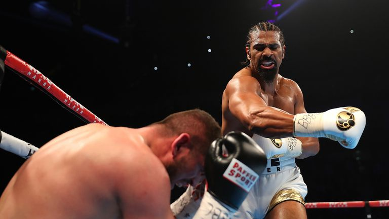 david haye last fight