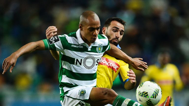 Joao Mario's transfer equals the record fee that a Portuguese club have received for a player