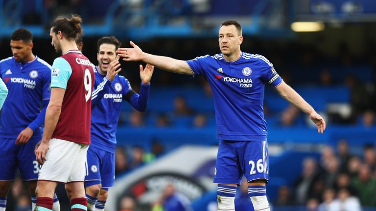 Terry's time at Chelsea looks to be coming to an end