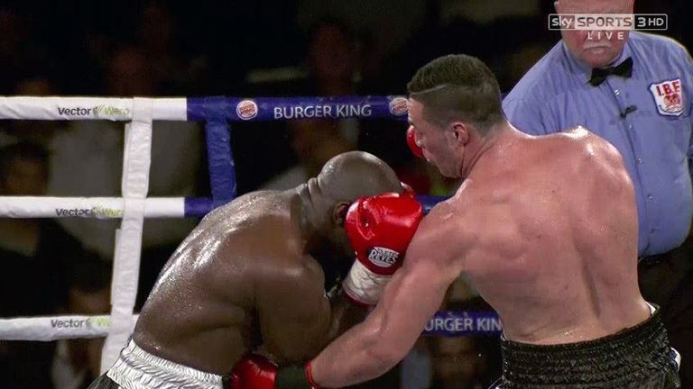 Carl Froch was impressed with Joseph Parker's performance against Carlos Takam