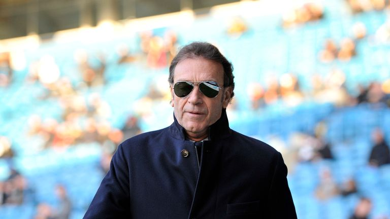 Andrea Radrizzani is hoping to buy out Leeds owner Massimo Cellino (pictured)