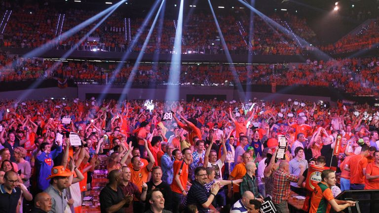 Expect a sea of 'Oranje' at the Rotterdam Ahoy