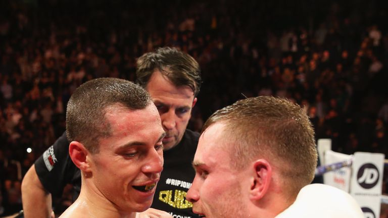 Frampton's former rival Scott Quigg will be boxing up at featherweight on December 10