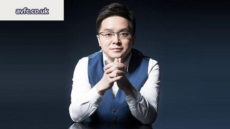 New Aston Villa owner Dr Tony Xia