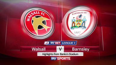 Walsall 1-3 Barnsley