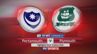 Portsmouth 2-2 Plymouth