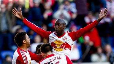 Bradley Wright-Phillips scored in each half as the New York Red Bulls eased to a derby win