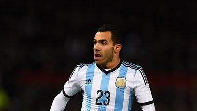 Carlos Tevez won Premier League titles with Manchester United and Manchester City