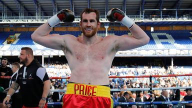 David Price has told Sky Sports how he doesn't fear Anthony Joshua