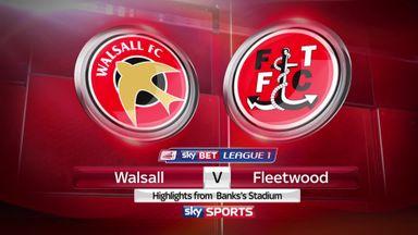 Walsall 3-1 Fleetwood