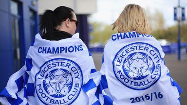 Leicester City fans react to Leicester City's Premier League title success