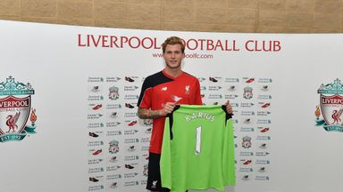 Karius has joined Liverpool from Mainz