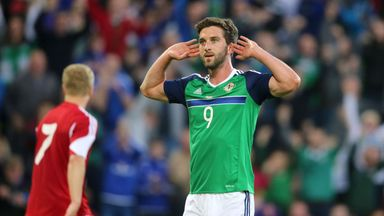 Will Grigg was an unused sub in all four of Northern Ireland's Euro 2016 games