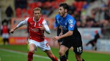 Paul Green (left) is one of 11 players who will leave Rotherham this summer