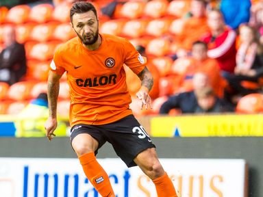 Dundee United have parted company with striker Darko Bodul