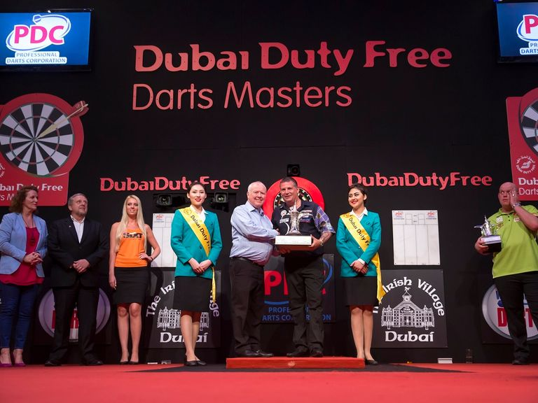 masters darts results