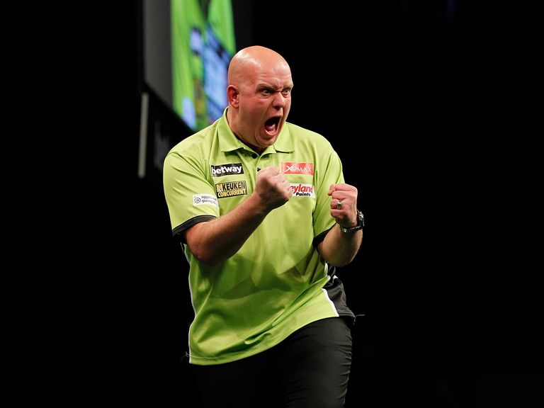 Michael van Gerwen took the Premier League prize
