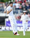 James Anderson has suffered a stress fracture in his shoulder