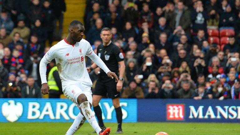 Benteke scored 10 goals for Liverpool last season