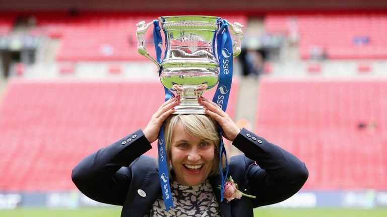 Emma Hayes says women's football is waiting to burst in popularity