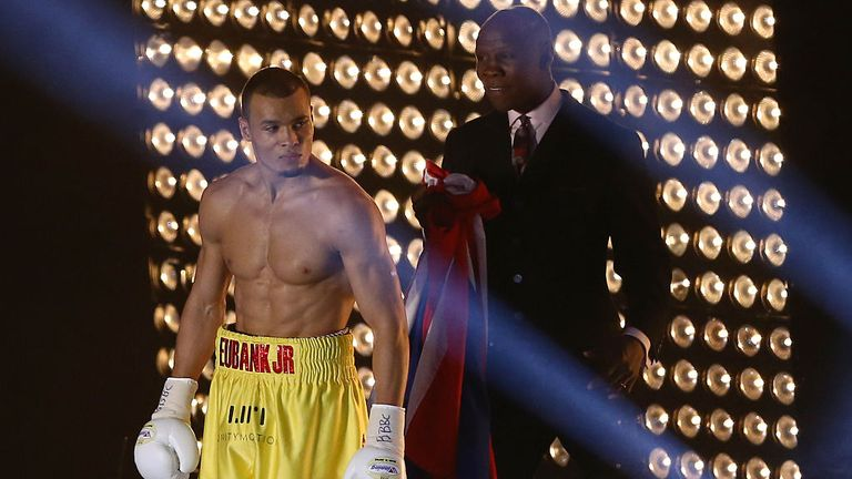 Chris Eubank Jr's career has been carefully crafted by his father