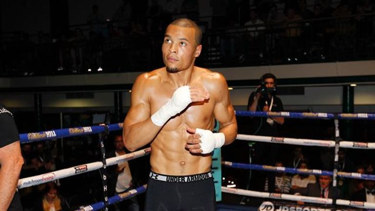 Chris Eubank Jr expected to fight Gennady Golovkin