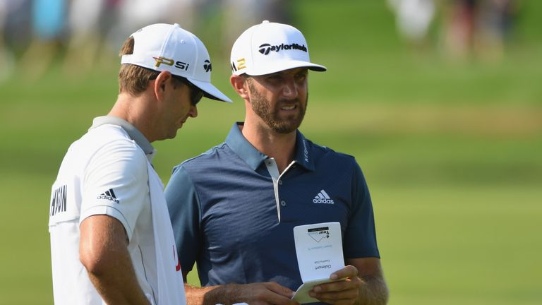 Johnson was informed he could be subject to a penalty several holes after the incident