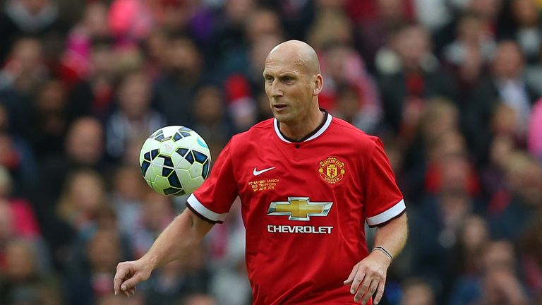Jaap Stam spent three seasons with Manchester United