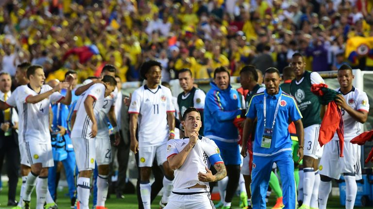 Colombia into Copa America quarters as Paraguay downed