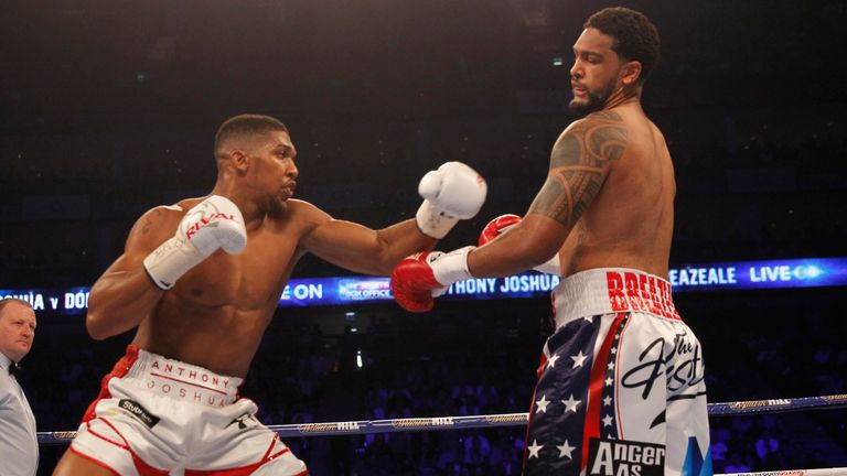 Breazeale suffered defeat at the hands of Anthony Joshua in 2016