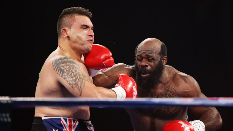 Kimbo Slice fights Shane Tilyard in his final boxing match