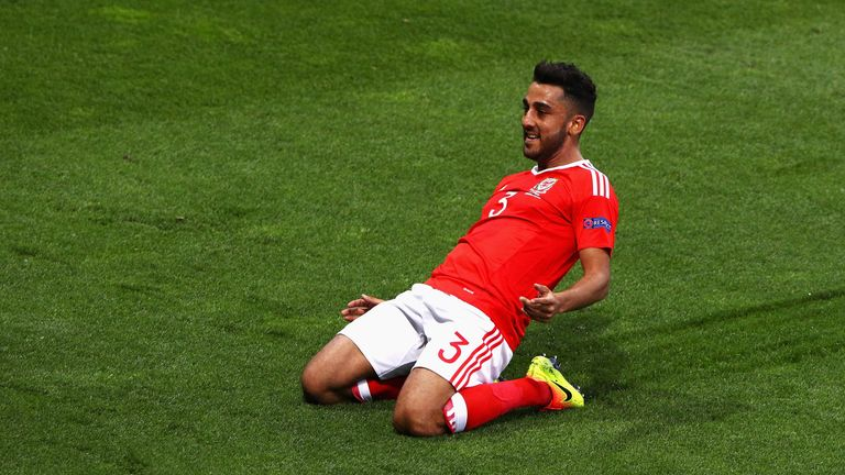 Neil Taylor was one of Wales' stars as they reached the semi-finals