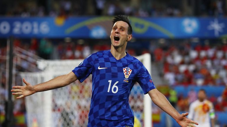 The Croatia international has also been linked with a move to Everton