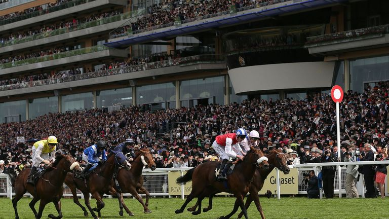 Profitable's jockey will be sporting new silks next time