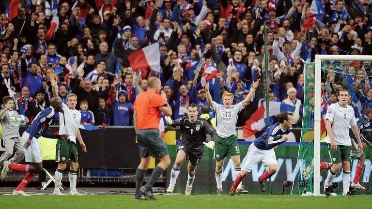 Giroud scores landmark goal as France beat Ireland