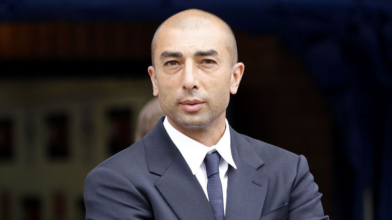 Aston Villa manager Roberto Di Matteo has only won one game out of seven in the Championship this season
