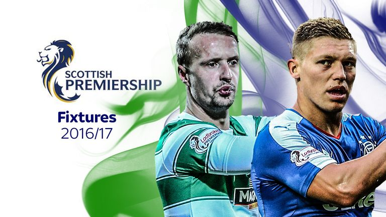 Scottish Premiership Fixtures