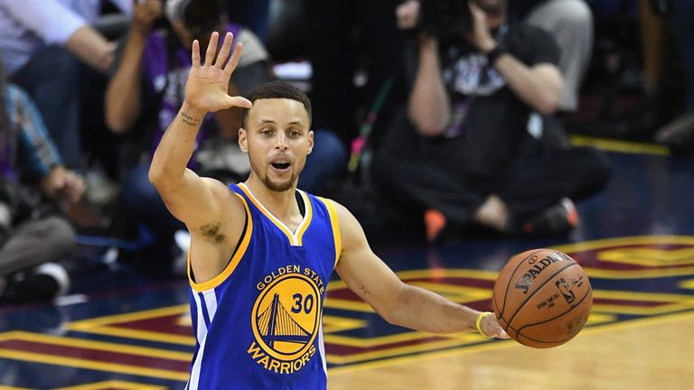 Stephen Curry earned a record-breaking £152m ($201m) deal from the NBA champion Golden State Warriors