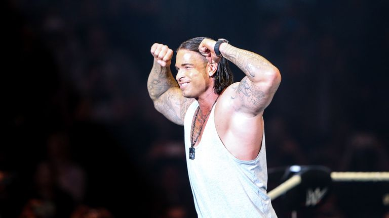 Tim Wiese has joined the WWE for an extended training period