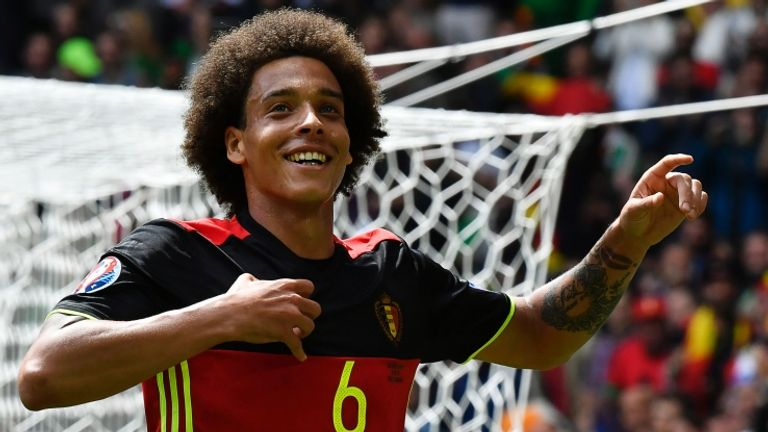 Axel Witsel is returning to Europe to play for Borussia Dortmund
