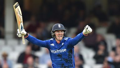 Roy smacked his third ODI century to lead England to victory at The Oval