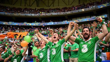 Republic of Ireland fans won plenty of praise for their behaviour at Euro 2016