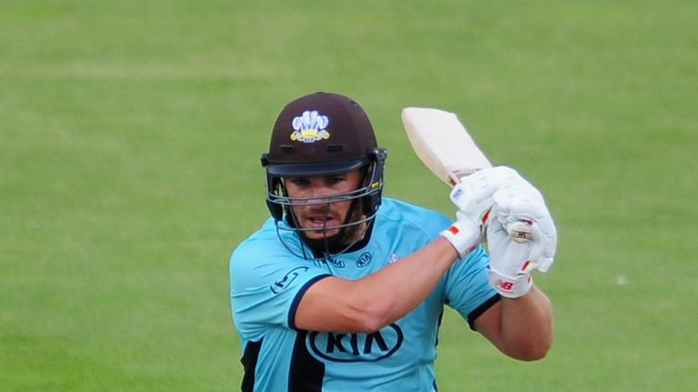Aaron Finch fired as Surrey secured their first win of the Vitality Blast against Essex