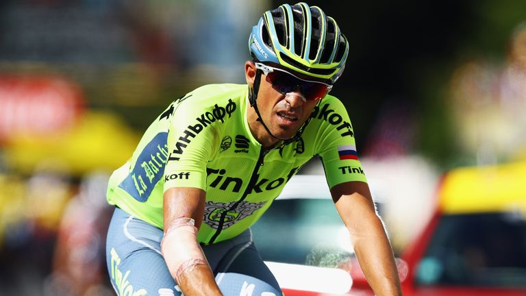 Contador will join Trek-Segafredo next season