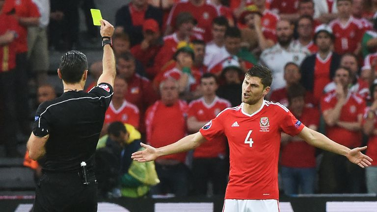 Davies missed out on Wales' Euro 2016 semi-final through suspension