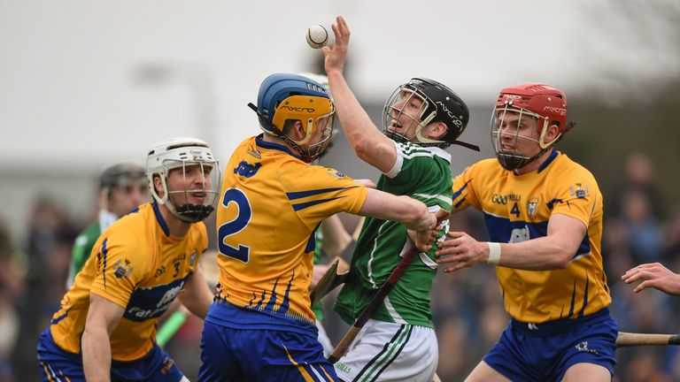 Clare face neighbours Limerick in the first Munster SHC game to be broadcast live on Sky Sports