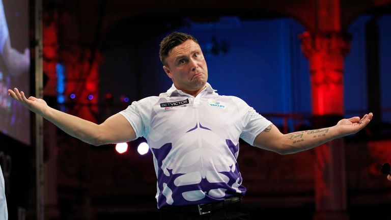Gerwyn Price will take on Taylor in the first round