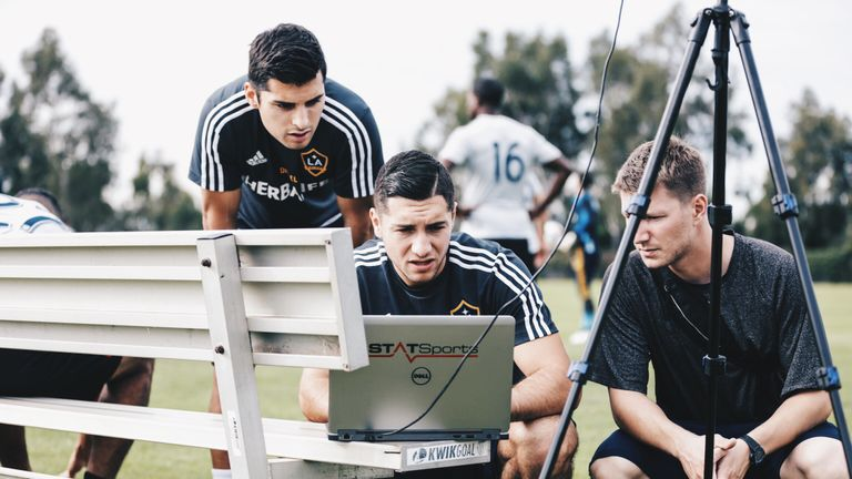 LA Galaxy are one of the MLS sides using STATSports (Picture: LA Galaxy)