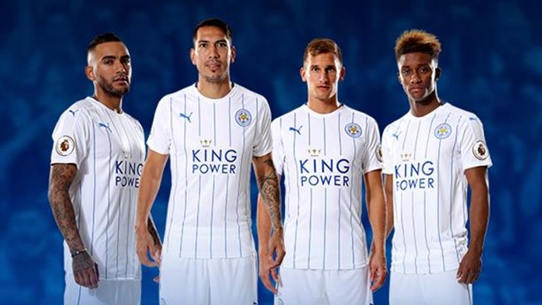Leicester City's third kit for the 2016/17 season (image c/o Leicester City)